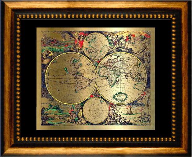 map-gold
