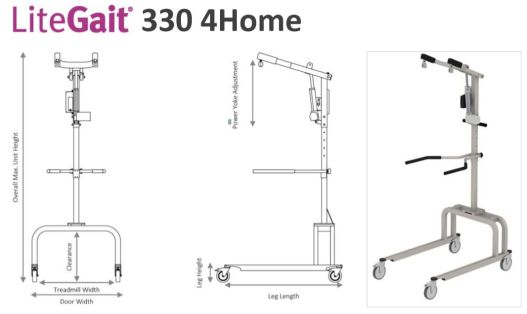 LiteGait 330 4Home
